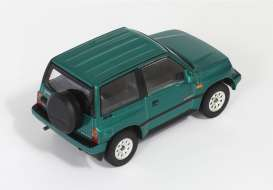 Ixo Premium X - Suzuki  - T9-43017 : 1992 Suzuki Vitara, green with grey/black interior.