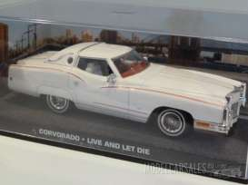 Magazine Models - Chevrolet Cadillac - magJBeldorado : Cadillac Eldorade *Live and let die*, white
