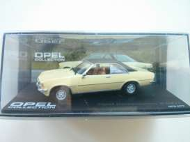 Magazine Models - Opel  - MagOComB : Opel Commodore B, yellow with black roof
