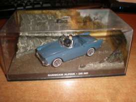 Magazine Models - Sunbeam  - magJBsun : Sunbeam Alpine James Bond *Dr No*, blue