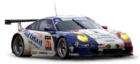Norev - Porsche  - nor750041 : 2013 Porsche 911 RSR #67 Le Mans, blue/white/red