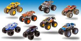 Mattel Hotwheels - Monster Jam Hotwheels - MatBHP37-965B~12 : Monster jam 1/64 diecast assortment of 12