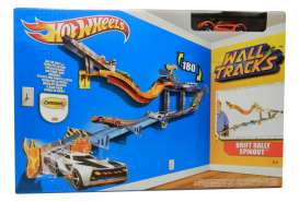 Mattel Hotwheels - Hotwheels Kids - MatW2105 : Hotwheels Wall Track *Drift Rally Spinout*. Including 1 Hotwheels car