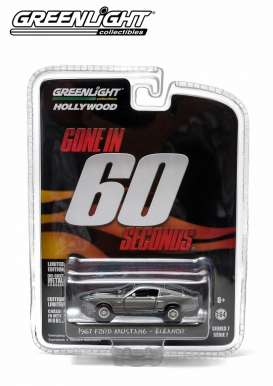 GreenLight - Shelby  - gl44670E : 1967 Ford Mustang Shelby GT500 Gone in Sixty Seconds (2000) *Eleanor* Hollywood series 7.