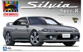 Aoshima - Nissan  - abk108645 : 1/24 Nissan Silvia S15 Spec.R Pre-Painted, plastic modelkit