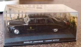 Magazine Models - Daimler  - magJBdaimler-CR : 1987 Daimler Limousine DS420 James Bond *Casino Royale*, black