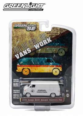 GreenLight - Dodge  - gl29782 : 1976 Dodge B-100 Van Animal Control *Hobby Exclusive*