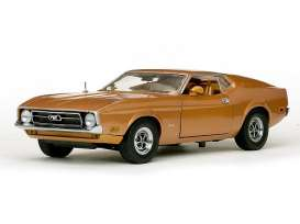 SunStar - Ford  - sun3619 : 1971 Ford Mustang Sportroof, medium brown