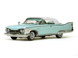 SunStar - Plymouth  - sun5411 : 1960 Plymouth Fury closed convertible, white/aqua mist