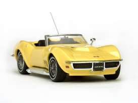 Vitesse SunStar - Chevrolet Corvette - vss36239 : 1968 Chevrolet Corvette Stingray 427 convertible, safari yellow