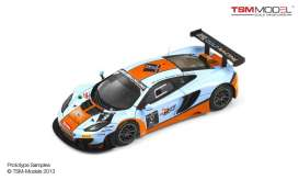 TrueScale - McLaren  - tsm144337 : 2013 McLaren 12C GT3 #9 Gulf Racing 24hr of Spa, blue orange