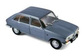 Norev - Renault  - nor185132 : 1968 Renault 19, blue metallic