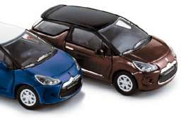 Norev - Citroen  - nor155294bb : 2010 Citroen DS3, brown/black