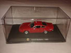 Magazine Models - Abarth  - magABbial : 1963 Abarth 1000 Bialbero, red