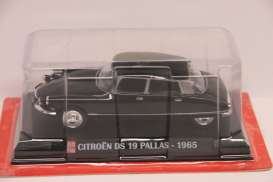 Magazine Models - Citroen  - magAPpallas : 1965 Citroen DS 19 Pallas Auto Plus, black