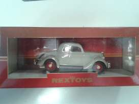 Rextoys - Ford  - rex1935gy : 1935 Ford type 48 coupe, grey