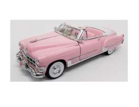Motor City Classics - Cadillac  - mocity48887EP : 1949 Cadillac Coupe de Ville convertible in special Elvis Presley packaging, pink
