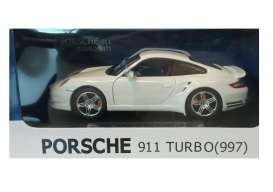 Joy City - Porsche  - joy850101w : 1/24 Porsche 911 Turbo 997, white