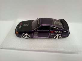 Jada Toys - Nissan  - jada90575p^1 : Nissan Sil Eighty *Option D Import Racer*, candy purple