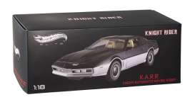 Hotwheels Elite - Pontiac  - hwmvBCT86*2 : 1982 Pontiac Trans Am Knightrider *KARR*. Karr is the black and grey antagonist of K.I.T.T in some of the Knightrider episodes