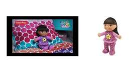 Mattel Dora - Dolls Kids - MatCCV83 : Bedtime Dora with Projector and glowing star (15 minutes after pressing it ones)