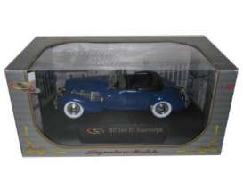 Signature Models - Cord  - sig32312b : 1937 Cord 812 Supercharged, blue