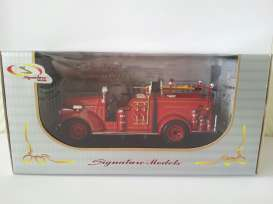 Signature Models - GMC  - sig32348DB : 1941 GMC Fire truck *Dearborn*, red