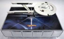 Hotwheels - Star Trek  - hwmvr2668*1 : 1/50 Star Trek USS Enterprice Space Station Comic-Con Special