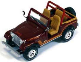 IXO Models - Jeep  - ixclc189 : 1986 Jeep C7 Laredo, dark brown