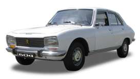 Welly - Peugeot  - welly18001w*1 : 1974 Peugeot 504, white