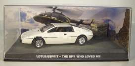 Magazine Models - Lotus  - magJBLotus : 1980 Lotus Esprit James Bond *The Spy who loved me*, white