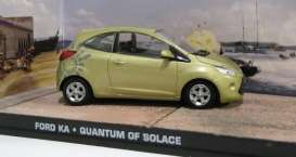 Magazine Models - Ford  - magJBKA : Ford KA James Bond *Quantum Of Solace*
