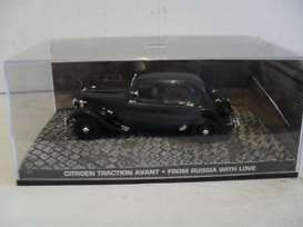 Magazine Models - Citroen  - magJBCitroen*1 : Citroen Traction Avant James Bond *From Rusia With Love*, black