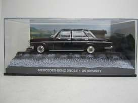 Magazine Models - Mercedes  - magbondmerc*1 : Mercedes Benz 250 SE *octopussy*, black