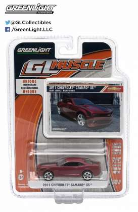 GreenLight - Chevrolet  - gl13100E : 2011 Chevrolet Camaro SS *Muscle Series 10*