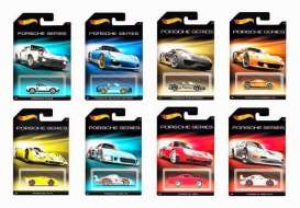 Hotwheels - Porsche  - hwmvCGB63-959A~12 : 1/64 Porsche assortment. Mix box of 12.