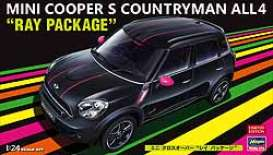Hasegawa - Mini Cooper - has20262 : 1/24 Mini Cooper S Countryman All4 *Ray Package*, plastic modelkit