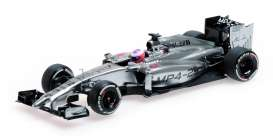 Minichamps - Mercedes McLaren - mc530141122 : 2014 McLaren Mercedes MP4-29 Button Pre-Season Testing, silver