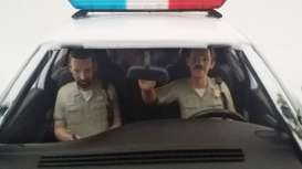 American Diorama - diorama Figures - AD23831 : 1/18 Police Figures sitting in a car. Set of 2 figures