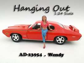 American Diorama - Figures  - AD23954 : 1/24 *Hanging Out* Wendy