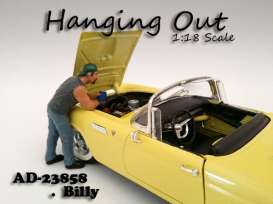American Diorama - Figures  - AD23858 : 1/18 *Hanging Out* Billy