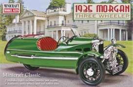 Minicraft - Morgan  - mmis1241 : 1935 Morgan Three Wheeler, plastic modelkit.
