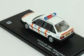 Triple9 Collection - Volvo  - T9-43069 : 1990 Volvo 440 *Rijkspolitie* DJ-VB-34, white/orange