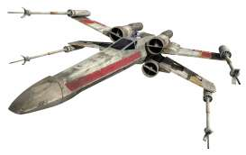 "Hotwheels Elite - Star Wars  - hwmvCMC91 : Star Wars Episode IV *A New Hope* X-Wing Starfighter 6""(around 15cm)"