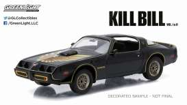 GreenLight - Pontiac  - gl86452 : 1980 Pontiac Firebird Trans Am *Kill Bill vol.2 (2004)*. In Original Kill Bill Packaging.