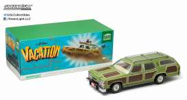 GreenLight - Ford  - gl19013 : National Lampoon's Vacation (1983) with Chevy Chase. 1979 Family Truckster *Wagon Queen* (The Truckster is based on a 1979 Ford LTD Country Squire station wagon and heavily modified). In Original National Lampoons Packaging *Artisan Collection*.