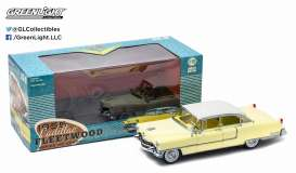 GreenLight - Cadillac  - gl12937 : 1955 Cadillac Fleetwood series 60, yellow with white roof