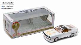 GreenLight - Ford  - gl12939 : 1978 Ford Mustang II King Cobra, polar white with gold