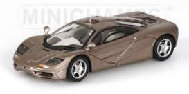 Minichamps - McLaren  - mc530133437*1 : McLaren F1 GTR Road Car, grey