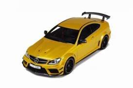 GT Spirit - Mercedes  - GT034 : Mercedes Benz C63 AMG Black Series(resin series), yellow